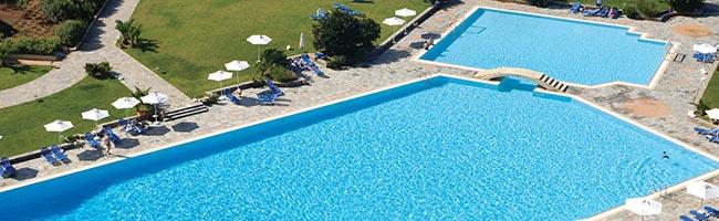Pools at the resort