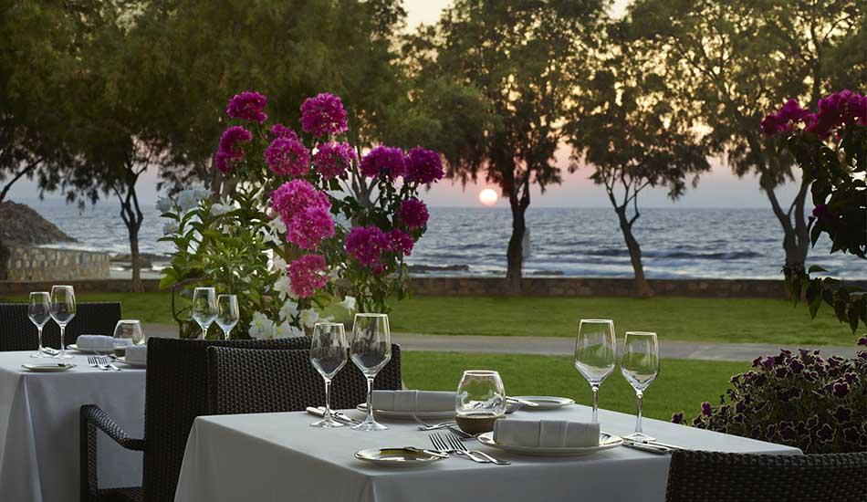 Thalassa A La Carte Restaurant Dinner